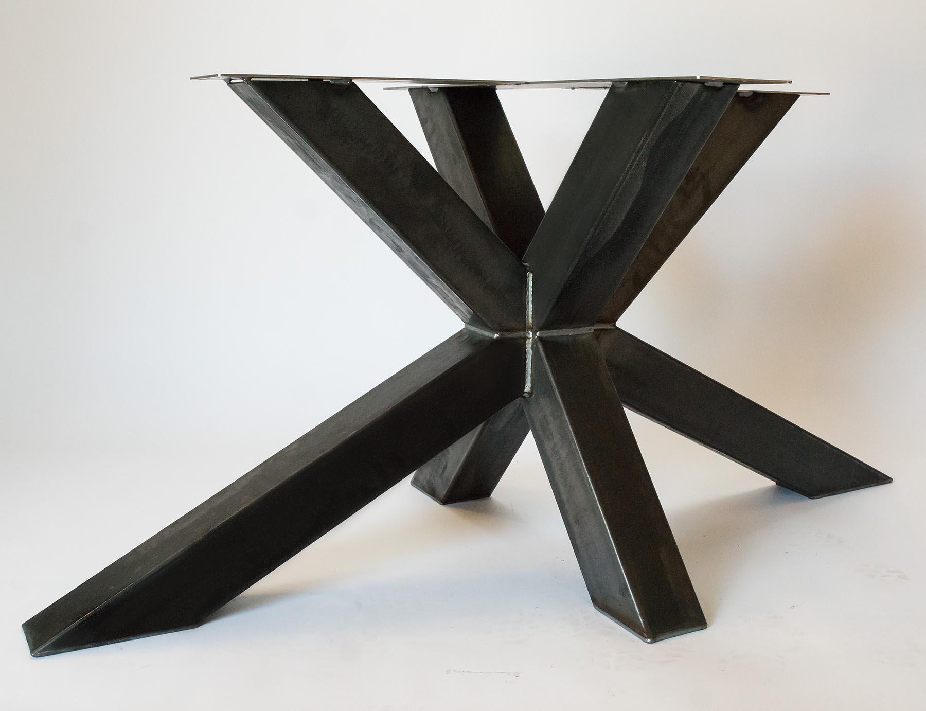 Zeer Stalen Matrix poot - Colorado - Stalen-tafelpoten.nl #NH39