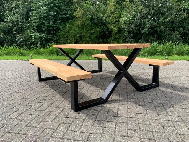 picknicktafel 10×5 X frame